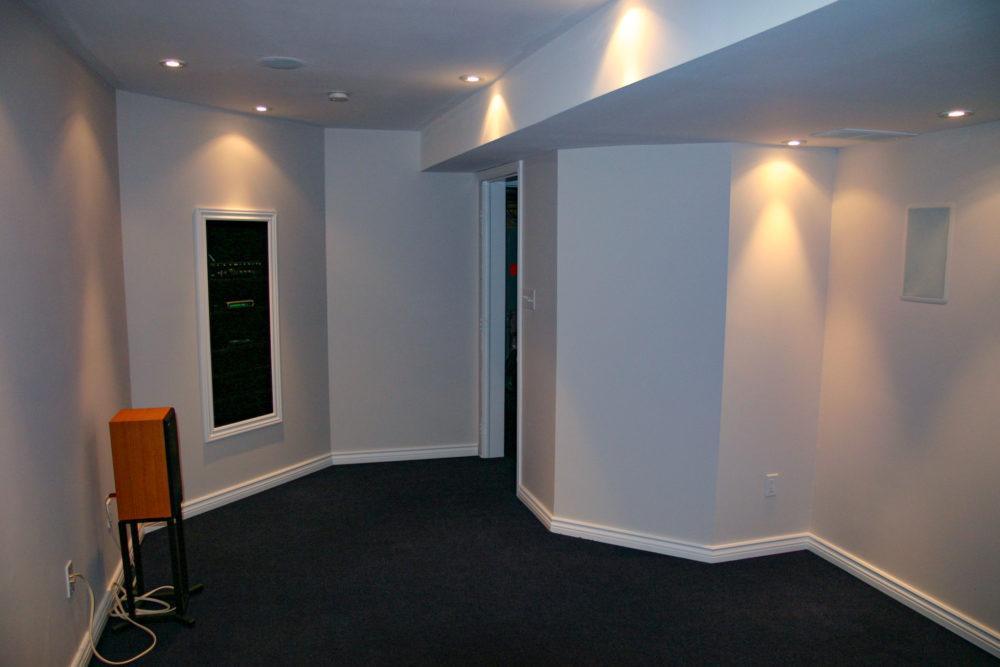 Media Room Construction