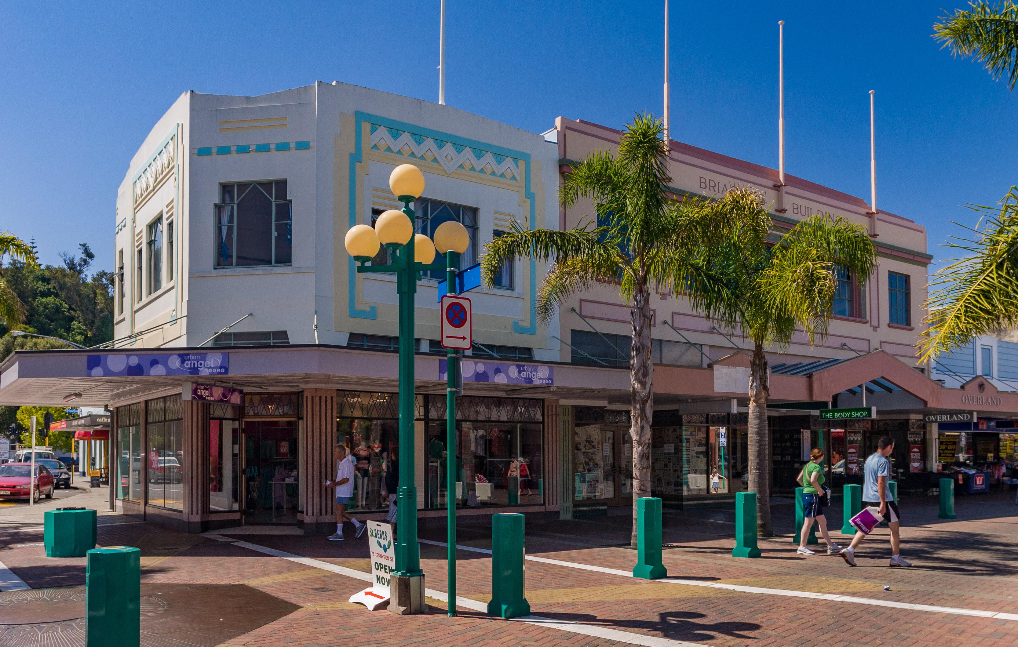 Shops in Napier