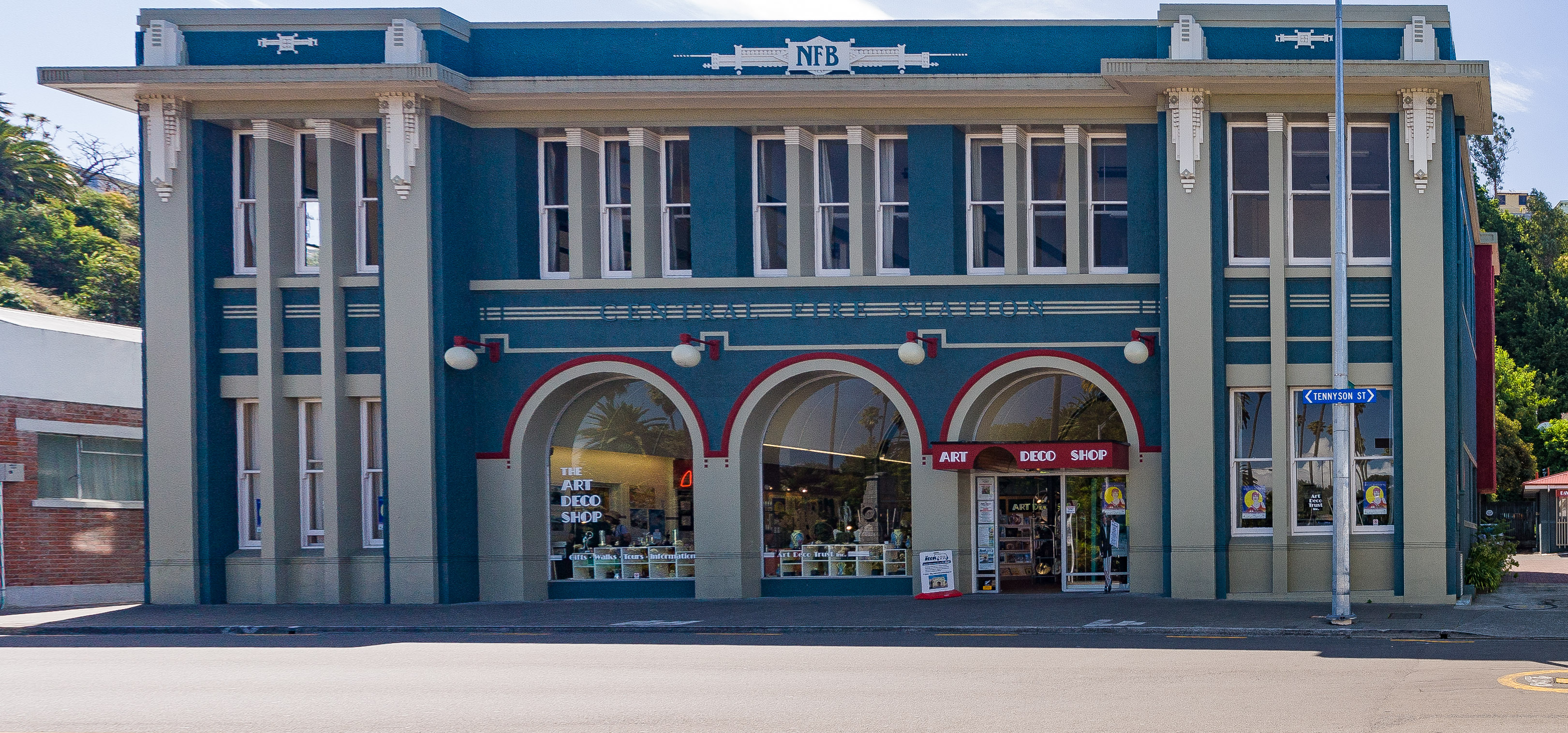 The Art Deco Shoppe in Napier, NZ
