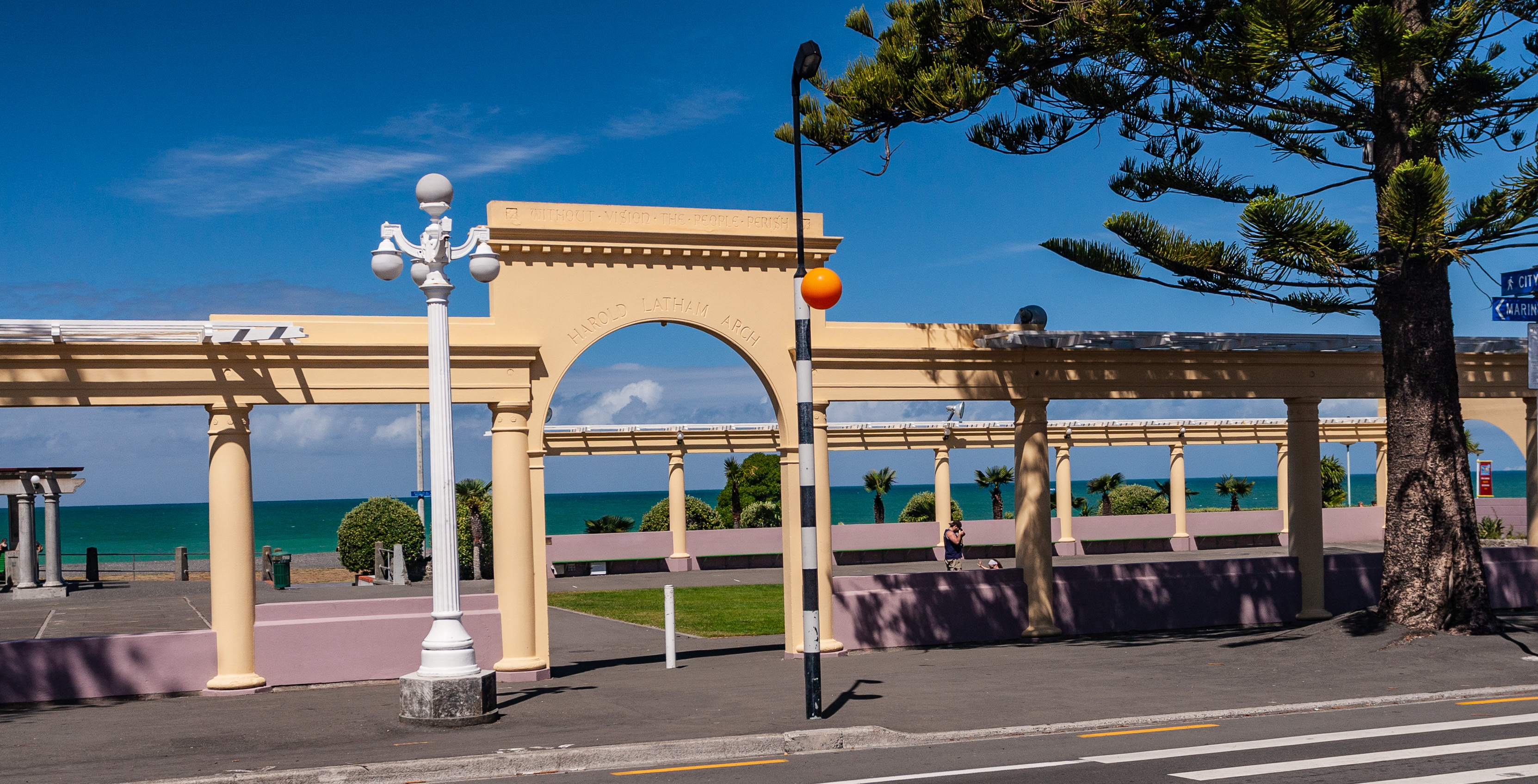 Archway to Beach