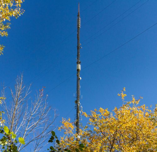 CKVR Broadcast Tower