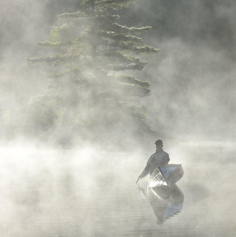 Basshaunt Mist and Canoe