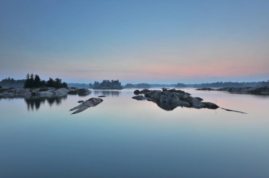 Morning, Desjardins Bay