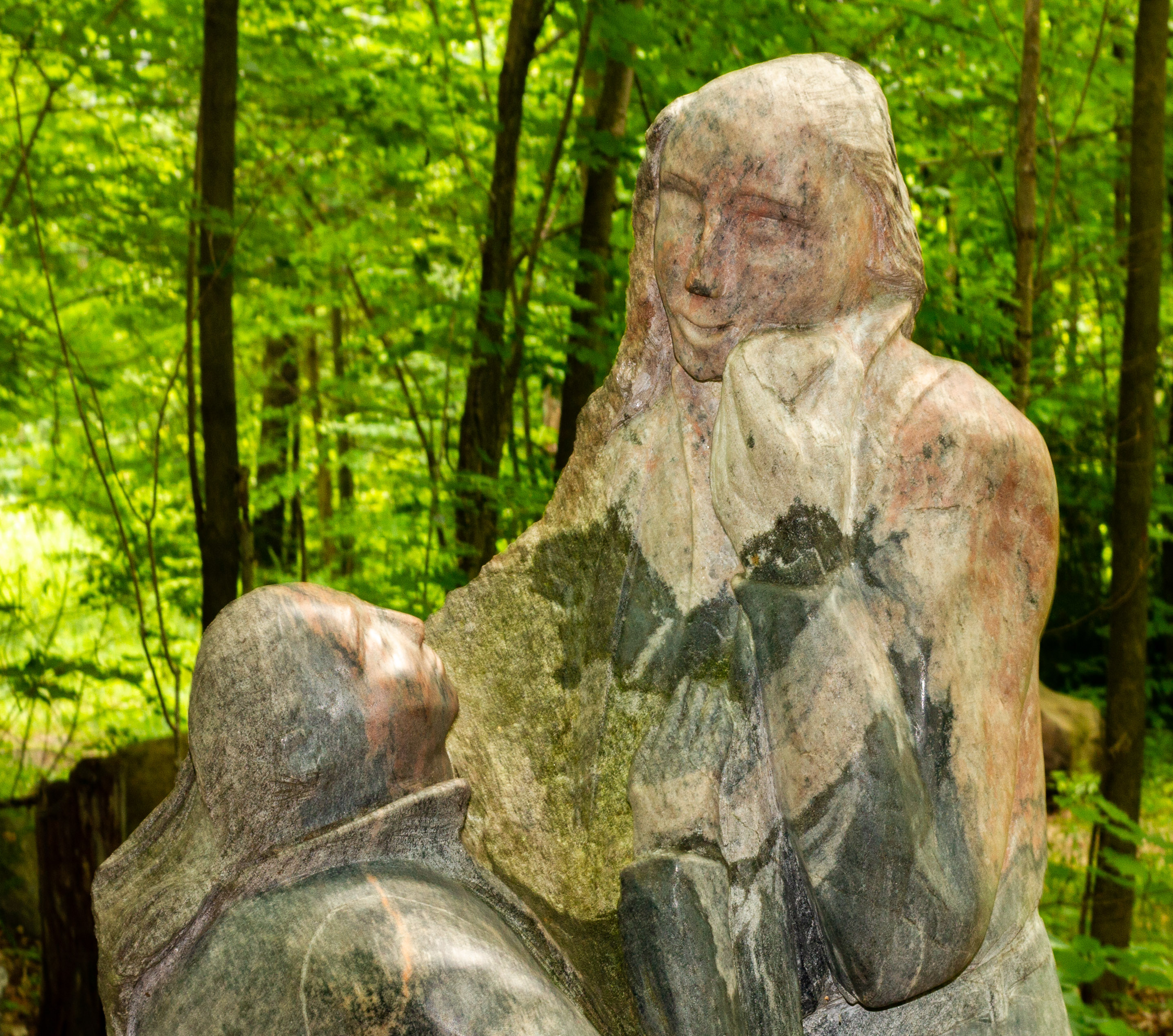 Sculpture of Couple