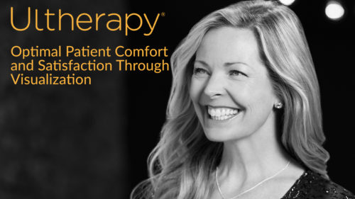 Ultherapy Logo With Female Model