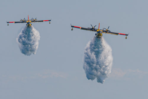 CL-415 Water Bombers